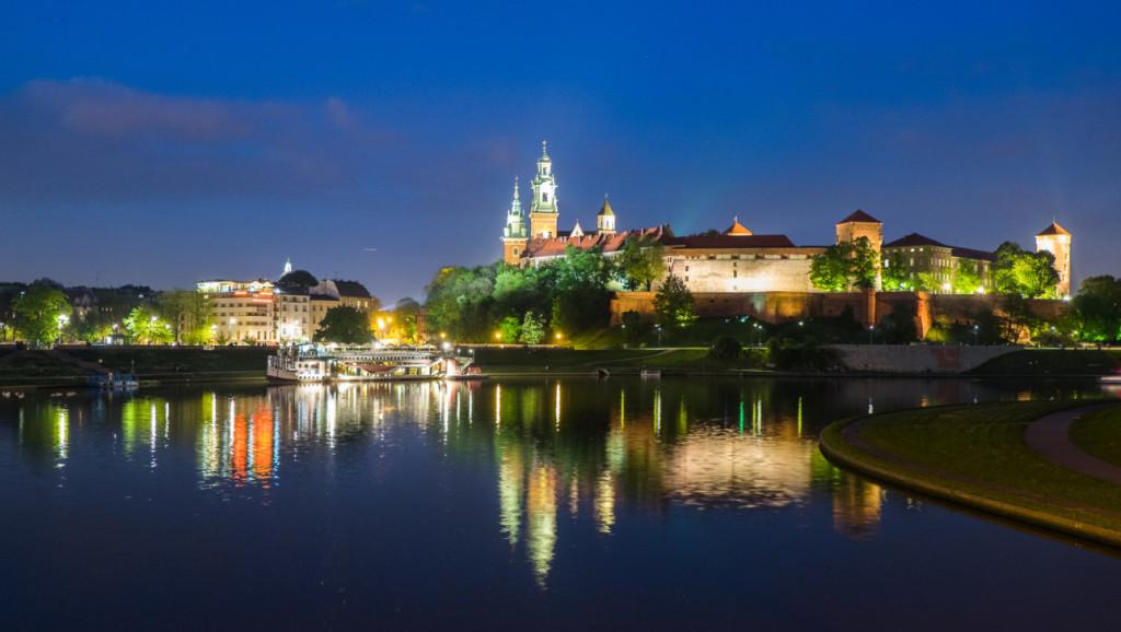 Wawel w Krakowie to dawna stolica Polski nad Wisłą