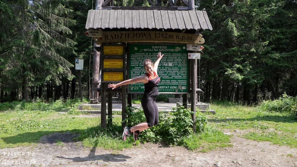 Radziejowa to najwyższy szczyt Beskidu Sądeckiego. Kolejny szczyt z listy Korona Gór Polski zdobyty!