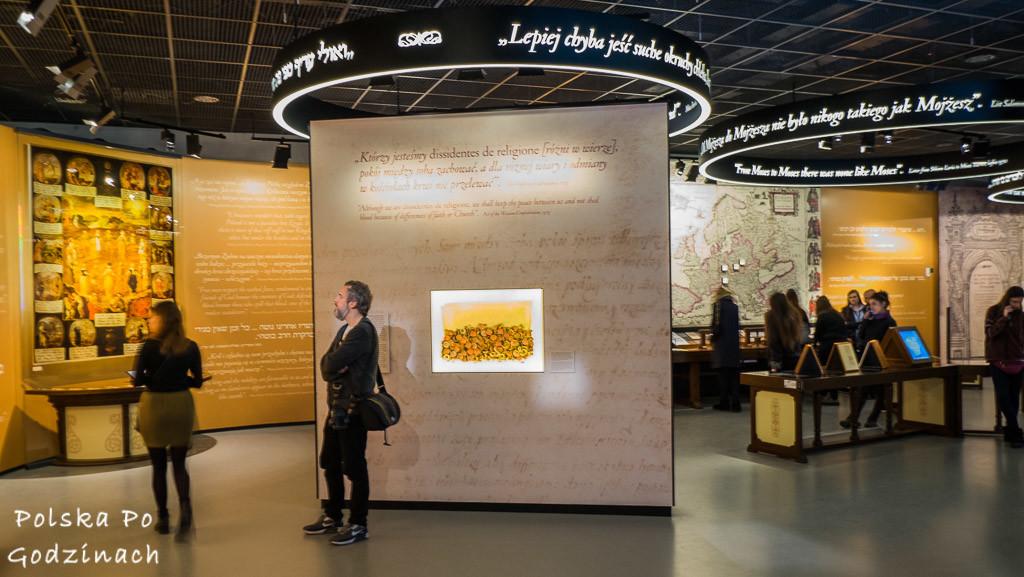 muzeum historii żydów polskich główna ekspozycja