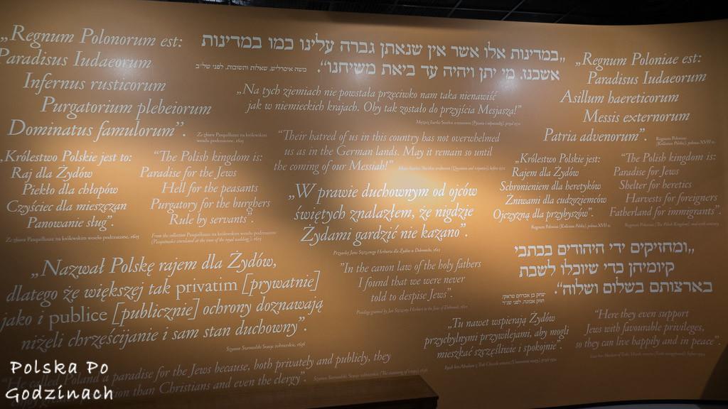 muzeum historii żydów polskich historia multimedia