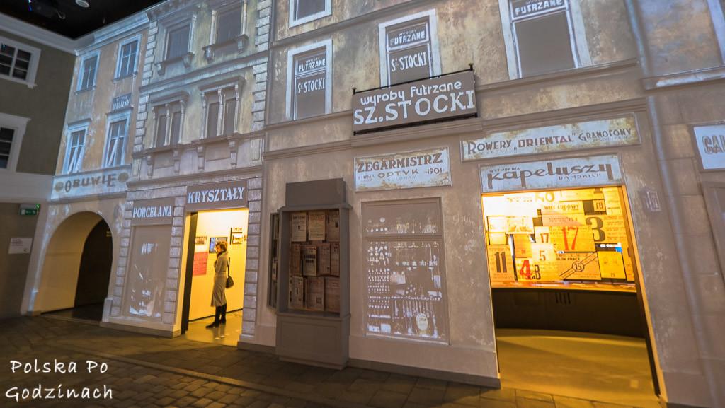 muzeum historii żydów polskich polin uliczka przedwojenna