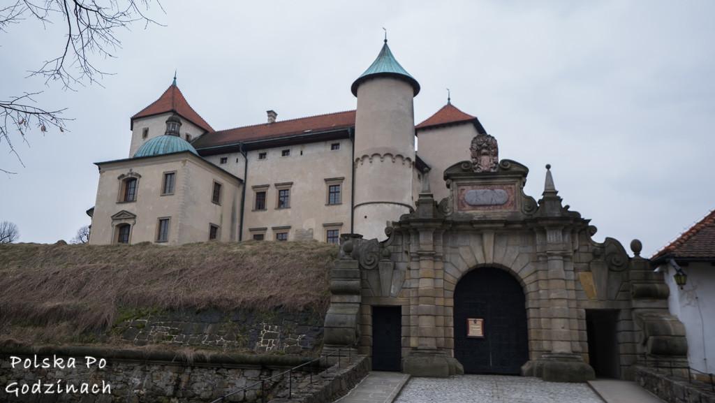 Nowy Wiśnicz Zamek Kmitów-Lubomirskich brama
