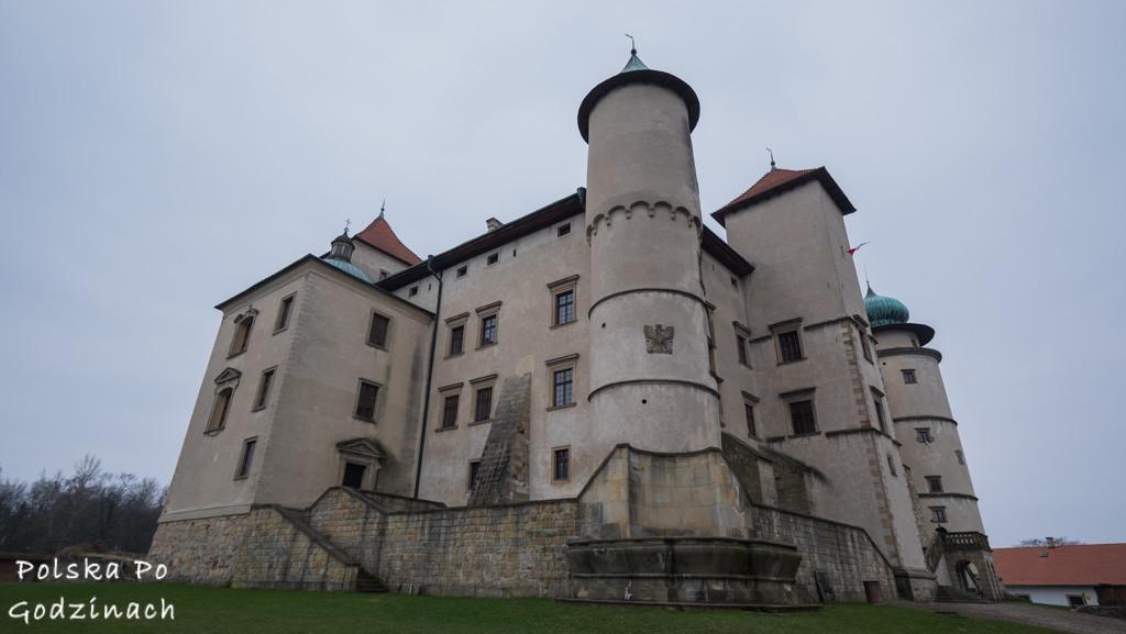 Nowy Wiśnicz Zamek Kmitów-Lubomirskich mury