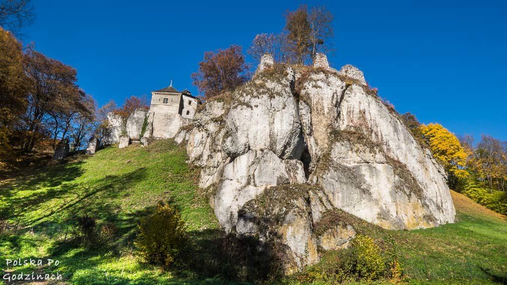 zamek-w-ojcowie-widok-z-dna-doliny-pradnika