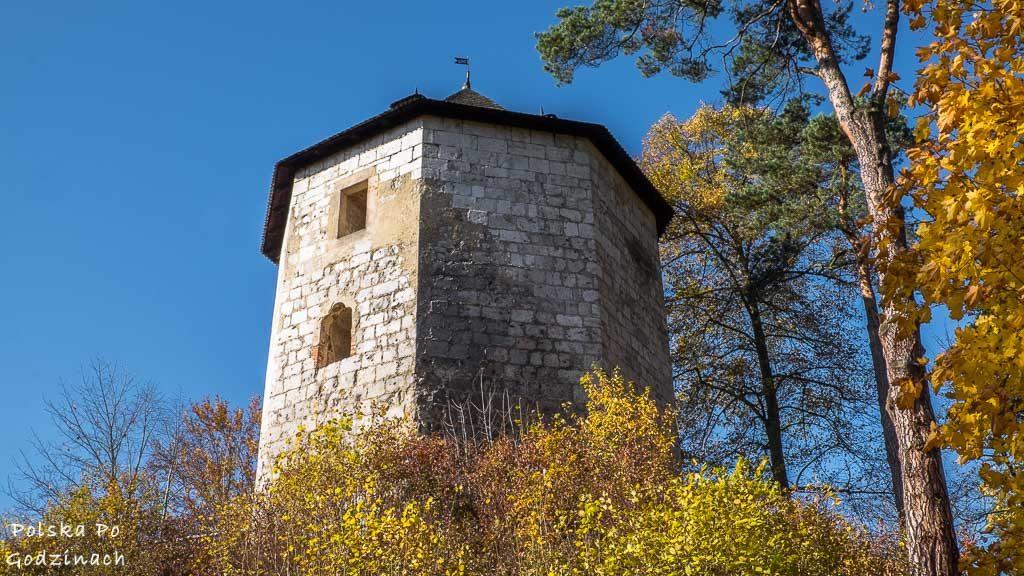 zamek-w-ojcowie-wieza-stolp
