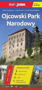 Ojcowski Park Narodowy Mapa Turystyczna plastikowa wydawnictwa Europilot