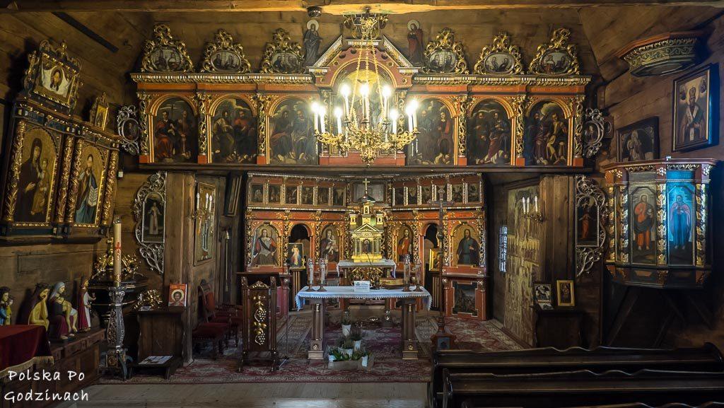 Atrakcją turystyczną Muszyny są bez wątpeinia liczne na terenie Beskidu Sądeckiego łemkowskie cerkwie.