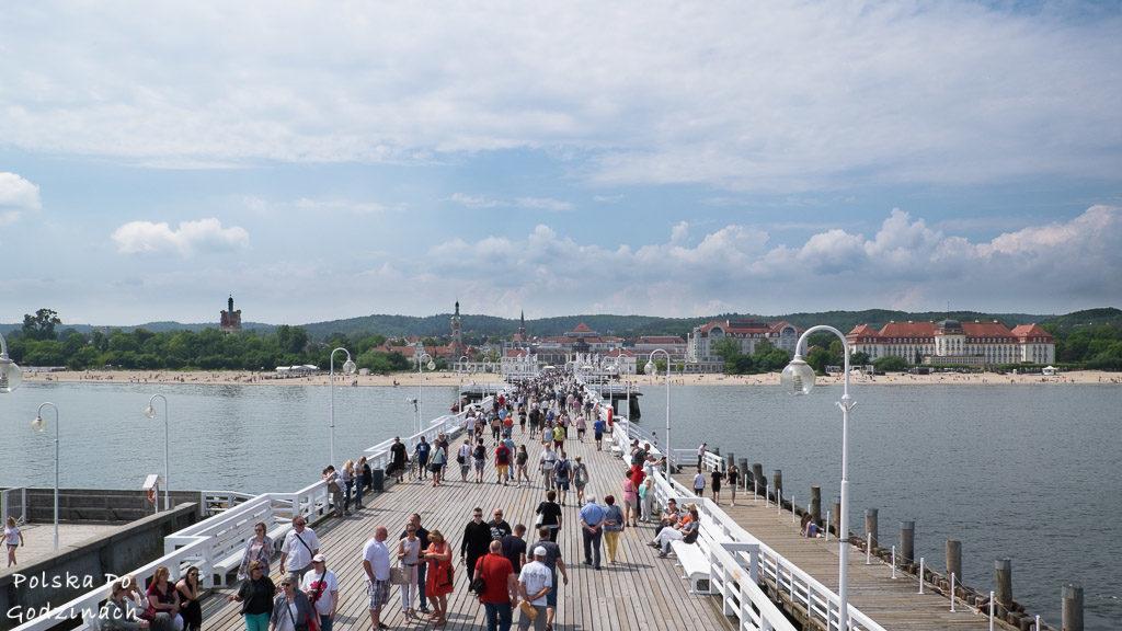 Drewniane molo to numer jeden w kategorii atrakcje turystyczne Sopotu
