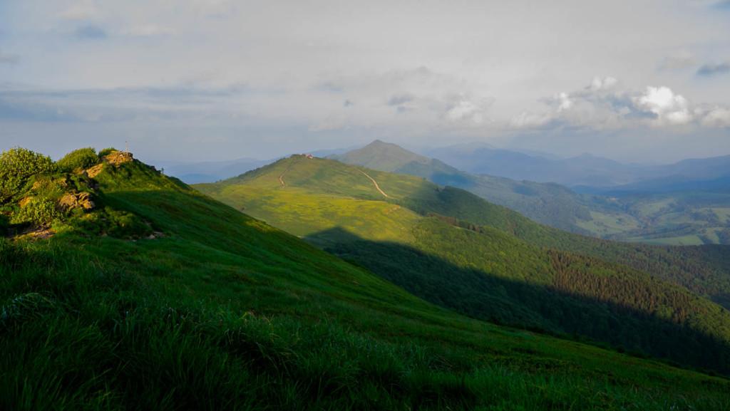góry-bieszczady-szlak-wetlinska-polonina