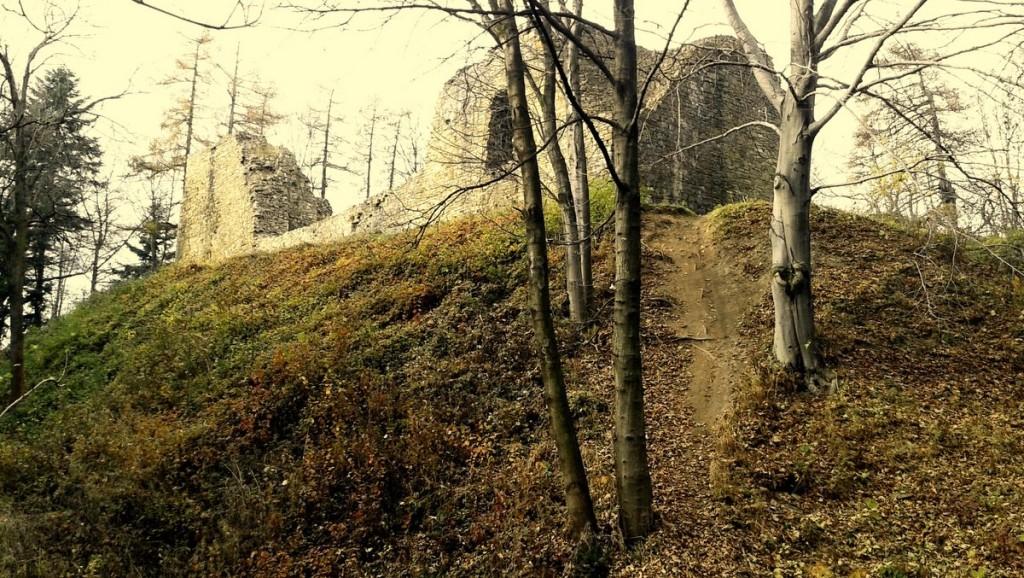 Lanckorona zamek