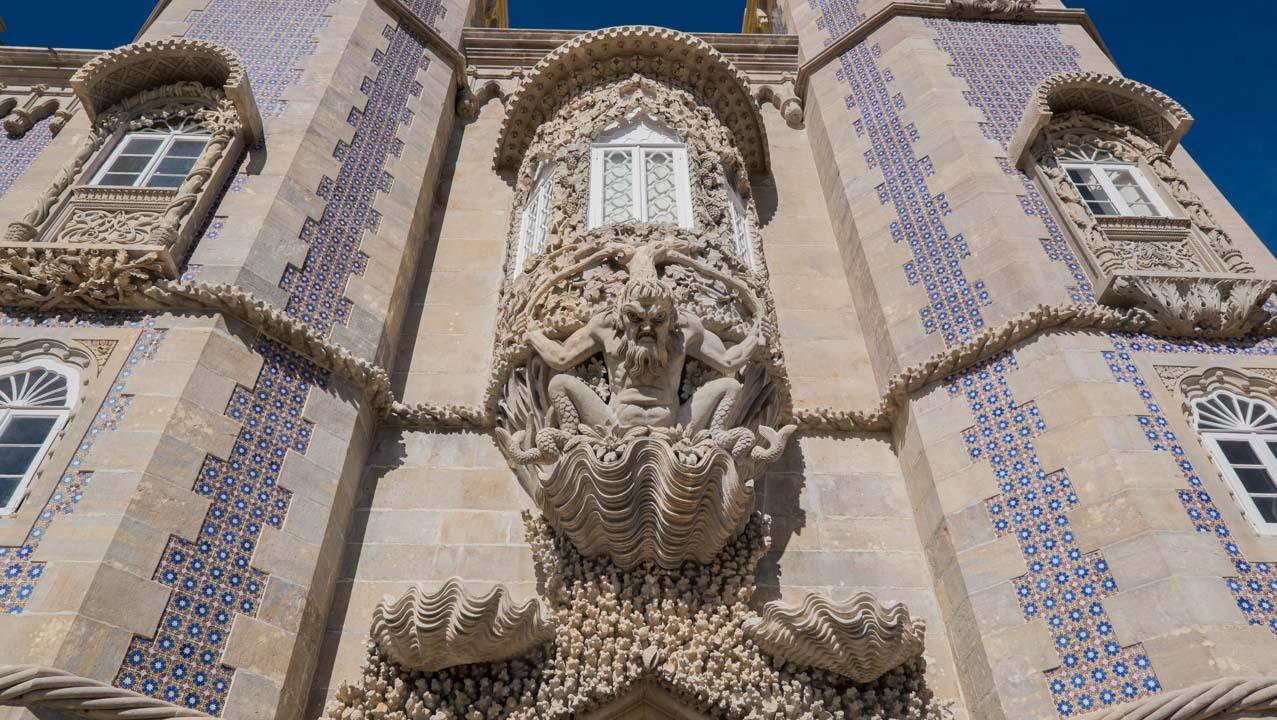 pałac Pena w Sintrze koło Lizbony