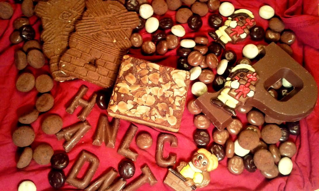 Gdzie mieszka święty mikołaj? Św Mikołaj w Hadze w Holandii. Ciasteczka