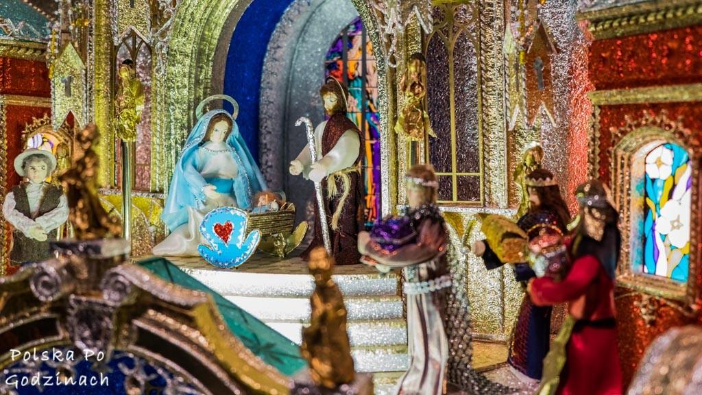 Krakow Szopki żłóbek narodziny Jezusa
