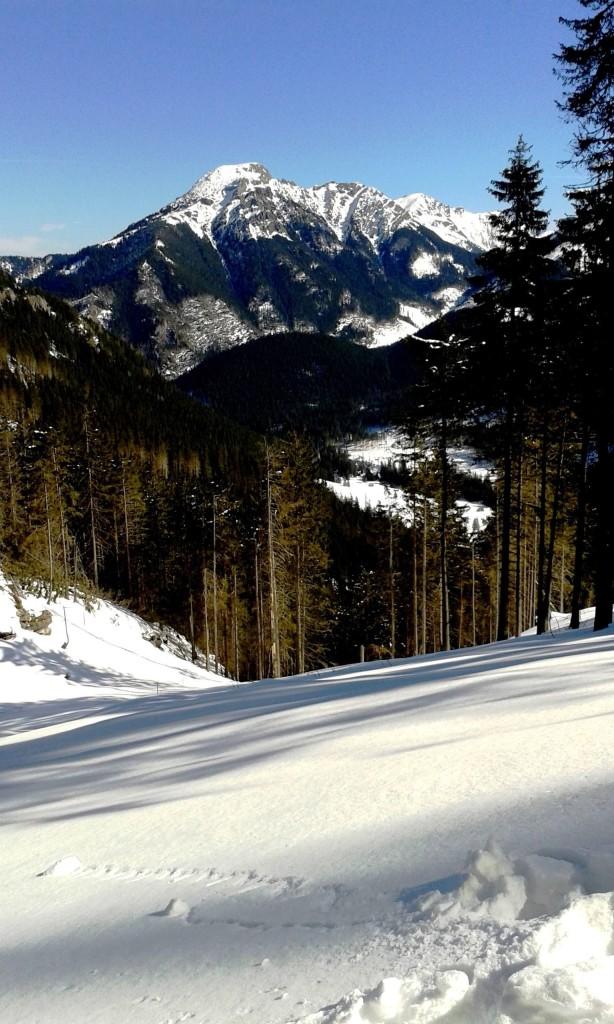 tatry zimą na szlaku