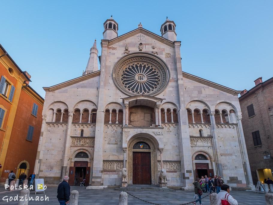 Katedra to jedna z największych atrakcji Modeny