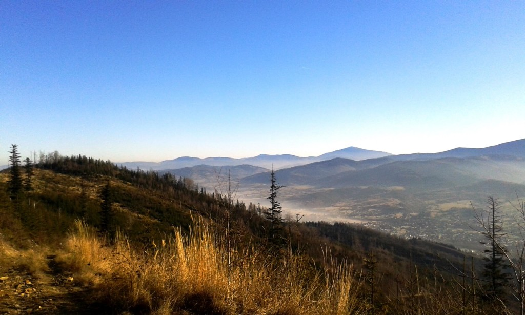 barania góra widok