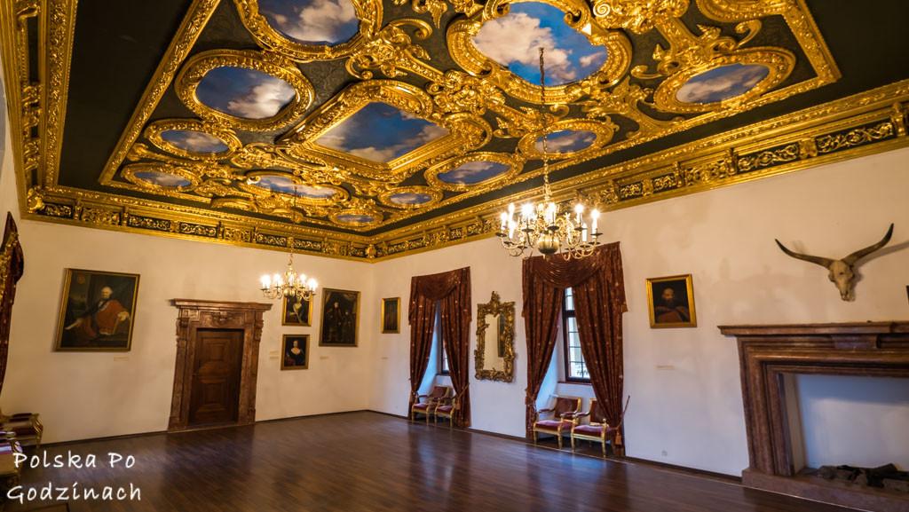 Nowy Wiśnicz Zamek Kmitów-Lubomirskich sala balowa