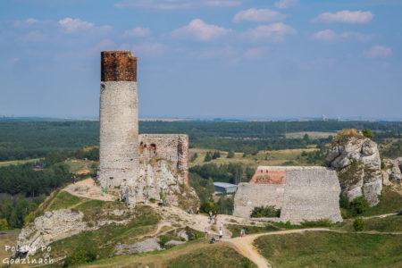 Częstochowa, Zamek w Olsztynie i północna Jura