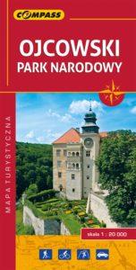ojcowski park narodowy mapa turystyczna w wersji papierowej wydawnictwa Compass
