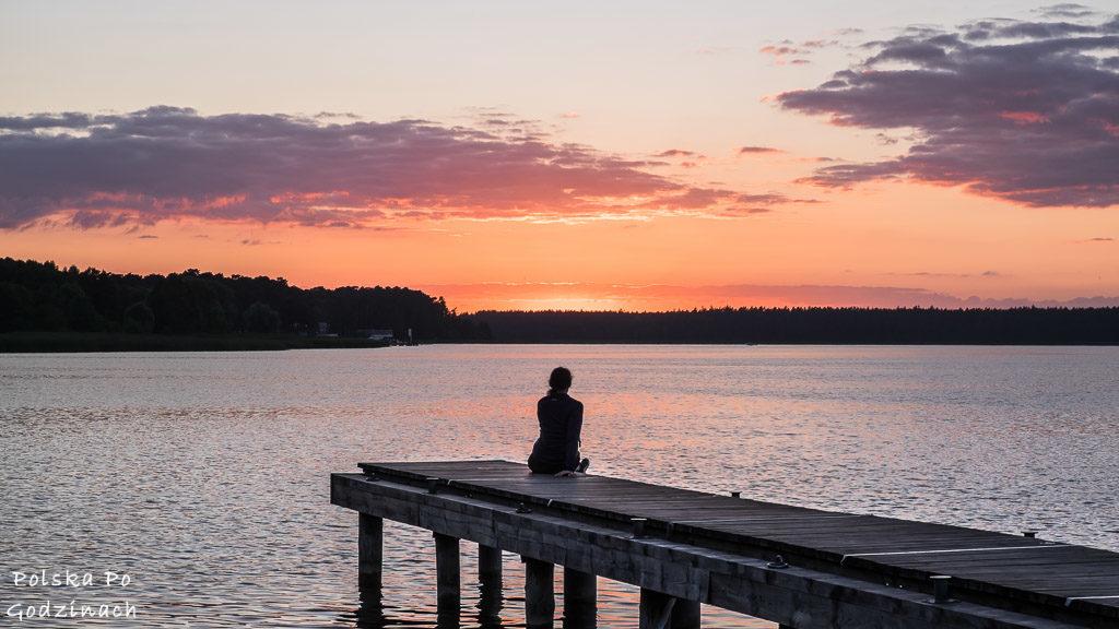 Atrakcje turystyczne Augustowa - zachody słońca na molo