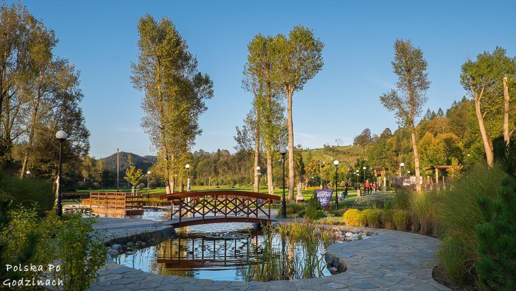 Liczne parki i tereny zielone to bez wątpienia atrakcja Muszyny.