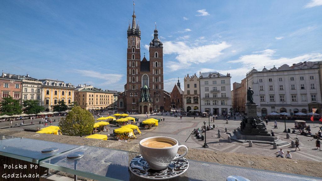 Widok na Rynek Główny. Kraków to stolica i największa atrakcja Małopolski
