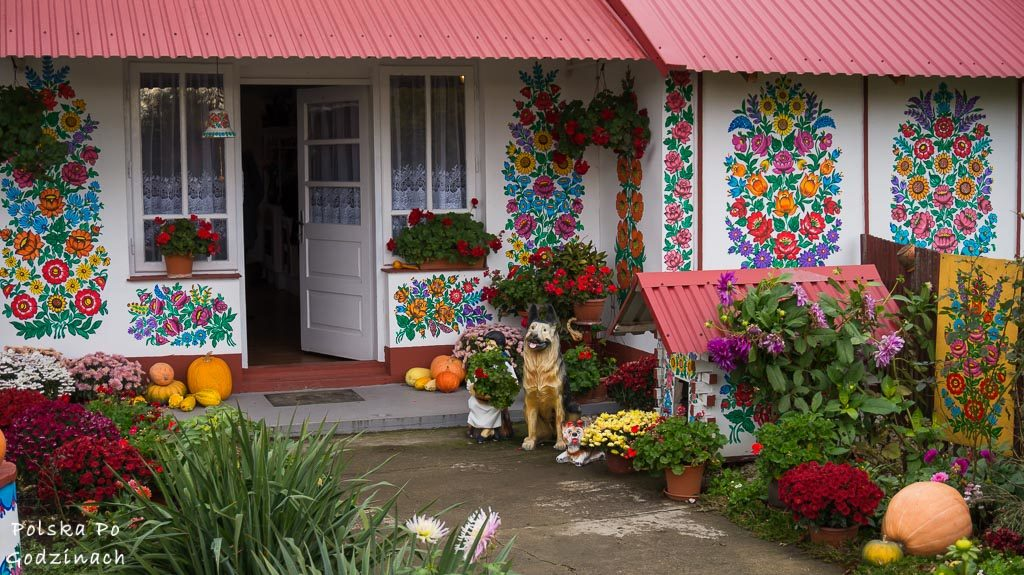 Zalipie w Małopolsce. Odwiedź najsłynniejszą na świecie malowaną wieś.