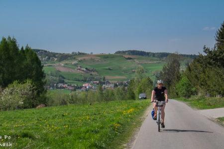 Rowerem z Tarnowa na Brzankę