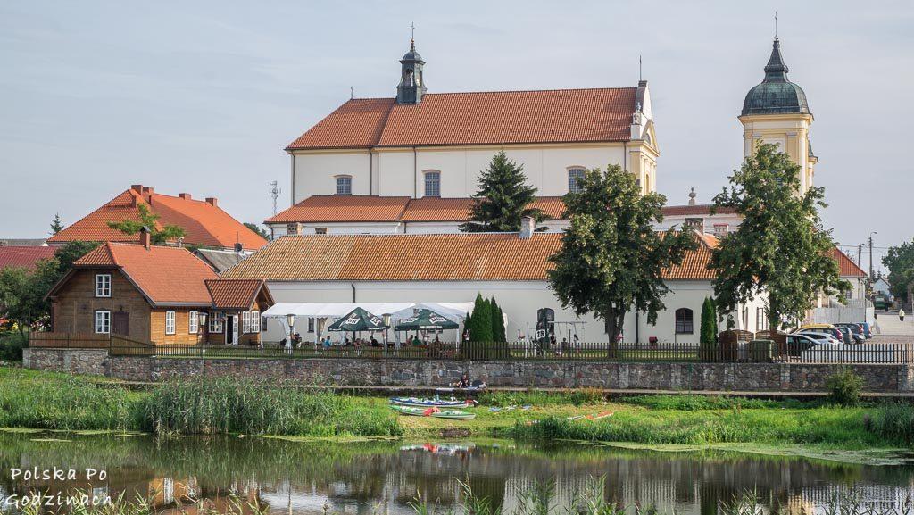 Ciekawe miejsca w Polsce. Klasztor w Tykocinie nad Narwią.