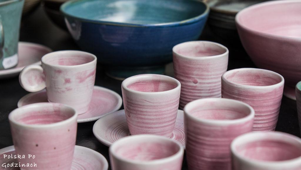 Ręcznie malowana ceramika z Lanckorony