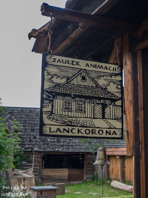 Jedną z atrakcji Lanckorony jest Zaułek Animacji