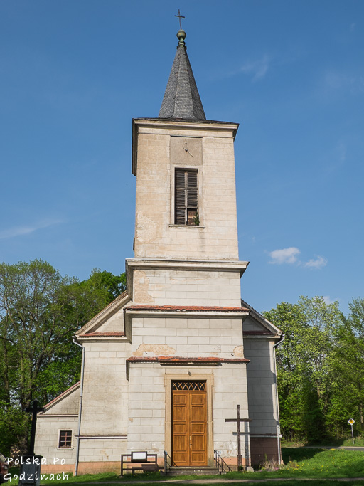 Miedzianka zniknęła pod ziemią, a to, co zostało, to ten kościół