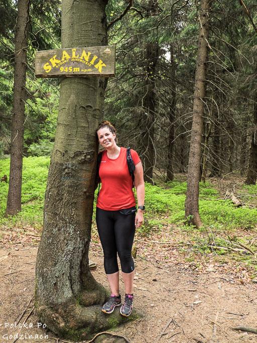 Skalnik, najwyższe wzniesienie w Rudawach Janowickich
