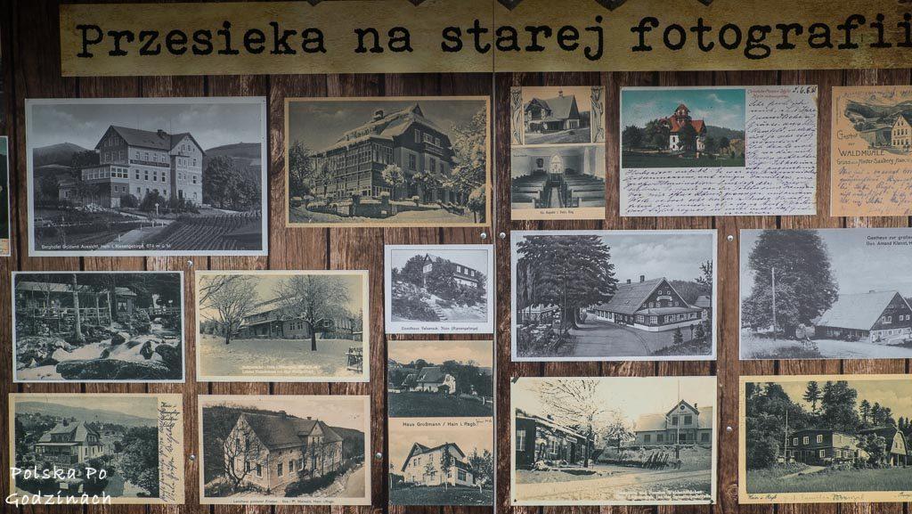 Zabytkowe pocztówki ukazujące kurortową przeszłość Przesieki.