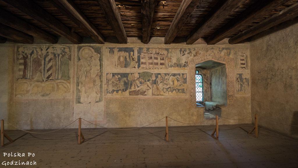 W Siedlęcinie zachowały się unikatowe średniowieczne freski