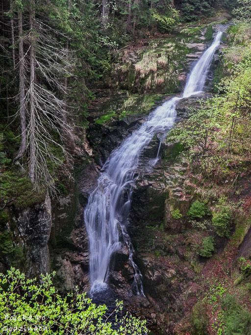 Wodospad Kamieńczyka to drugi największy wodospad w Polsce