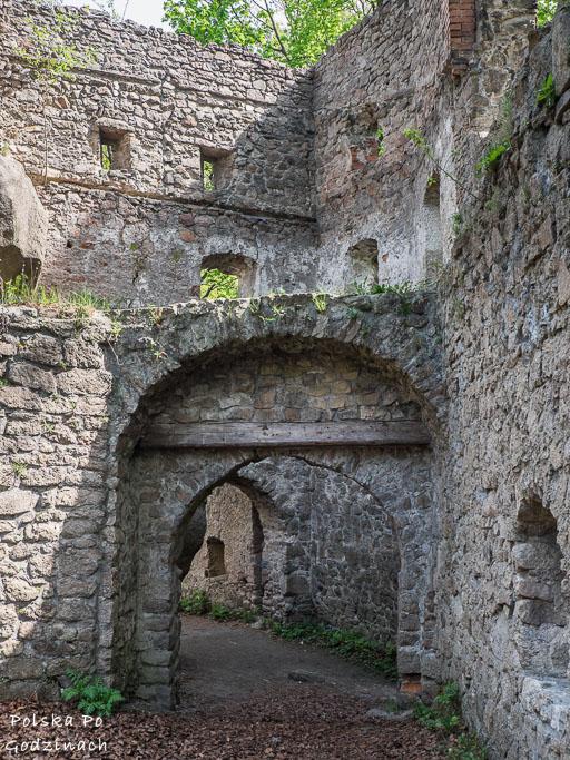 Ruiny Zamku Bolczów koło Jeleniej Góry
