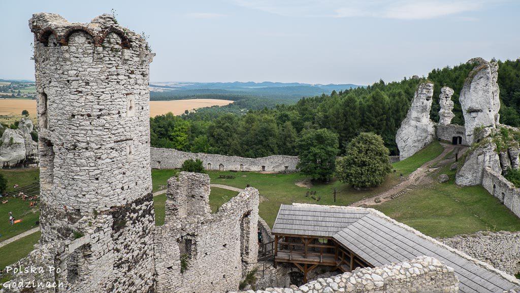 Ogrodzieniec to jedna z większych atrakcji woj. śląskiego.