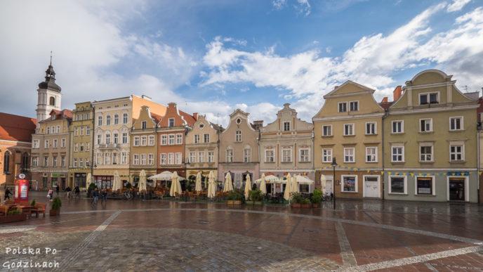 Opolski rynek to jedna z atrakcji miasta