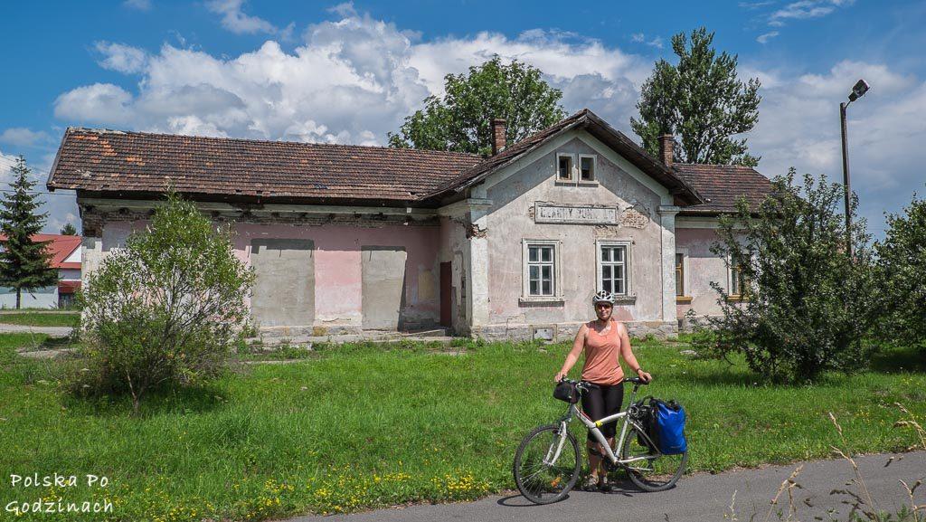 Stara stacja kolejowa w Czarnym Dunajcu