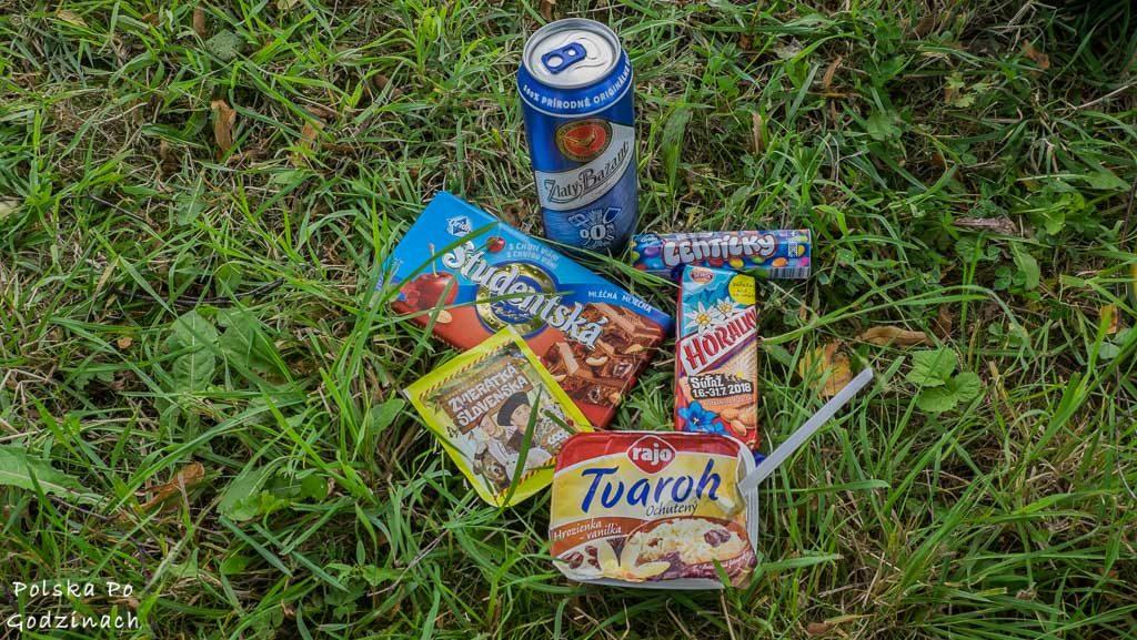 Słowackie słodycze wchodzą gładko po wysiłku na Szlaku Wokół Tatr