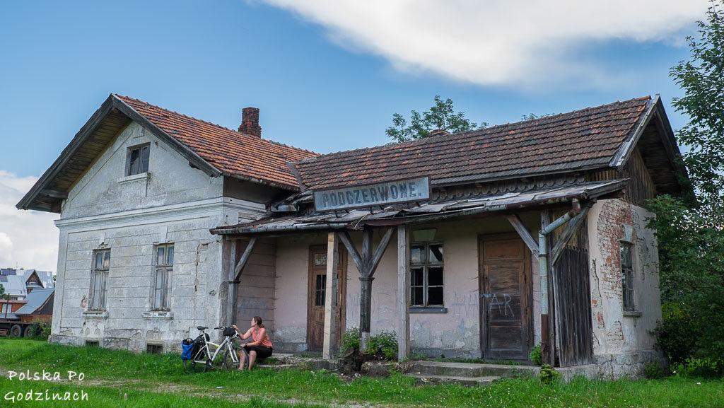 Dawna stacja kolejowa w Podczerwonym