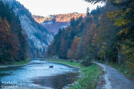 Rowerem wzdłuż Dunajca: Szczawnica – Czerwony Klasztor
