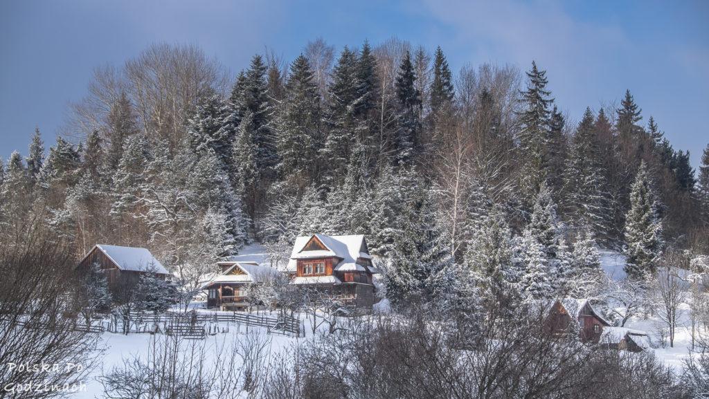 Pieniny szczyty szlaki zimą