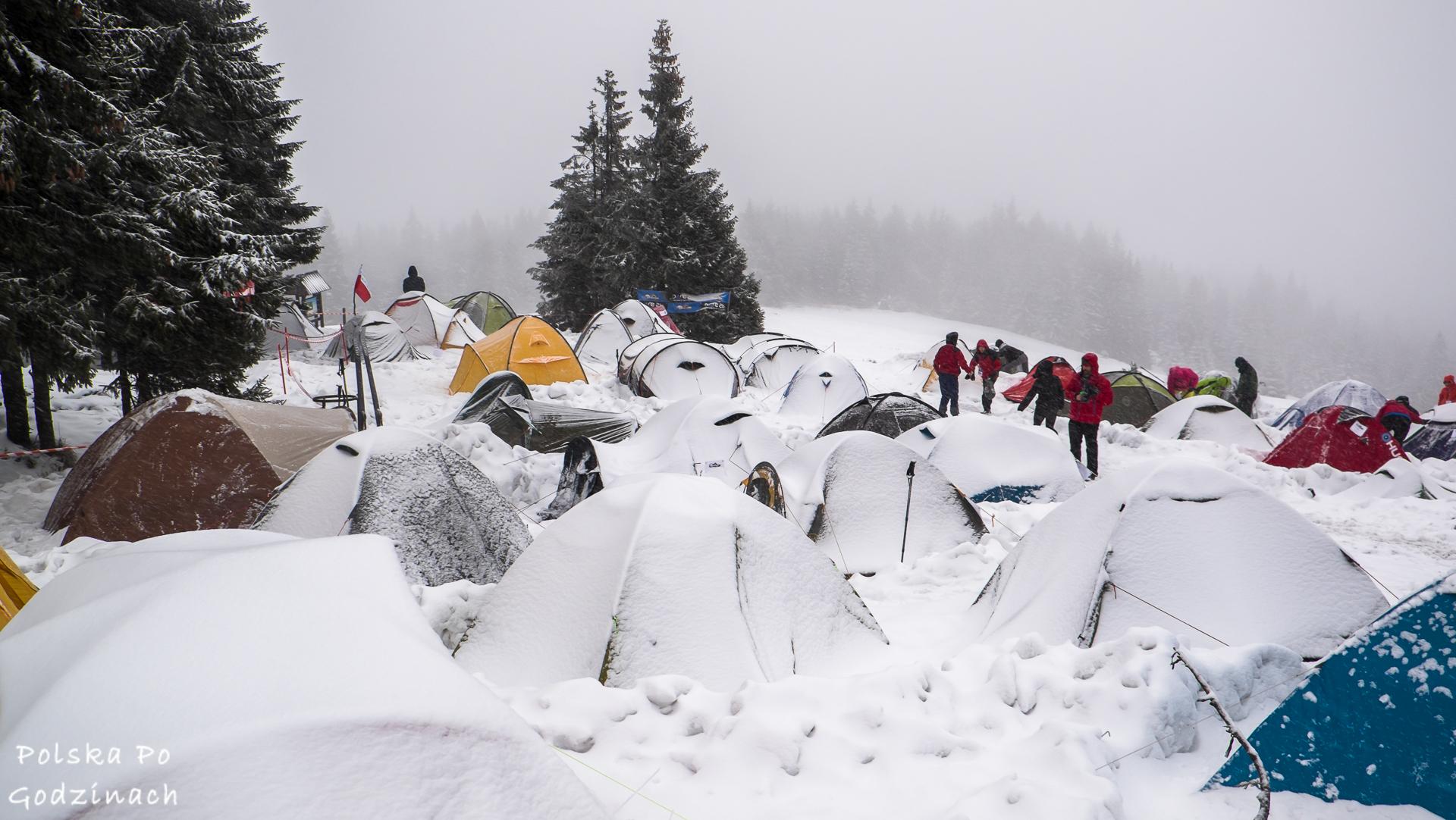 Wintercamp to znany zimowy biwak
