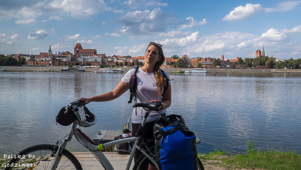 Torun byl startem i meta naszej trasy rowerowej po kujawsko-pomorskim