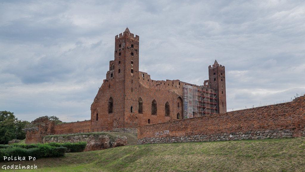 Radzyn to jedna z atrakcji kujawsko-pomorskiego, zamek krzyzacki