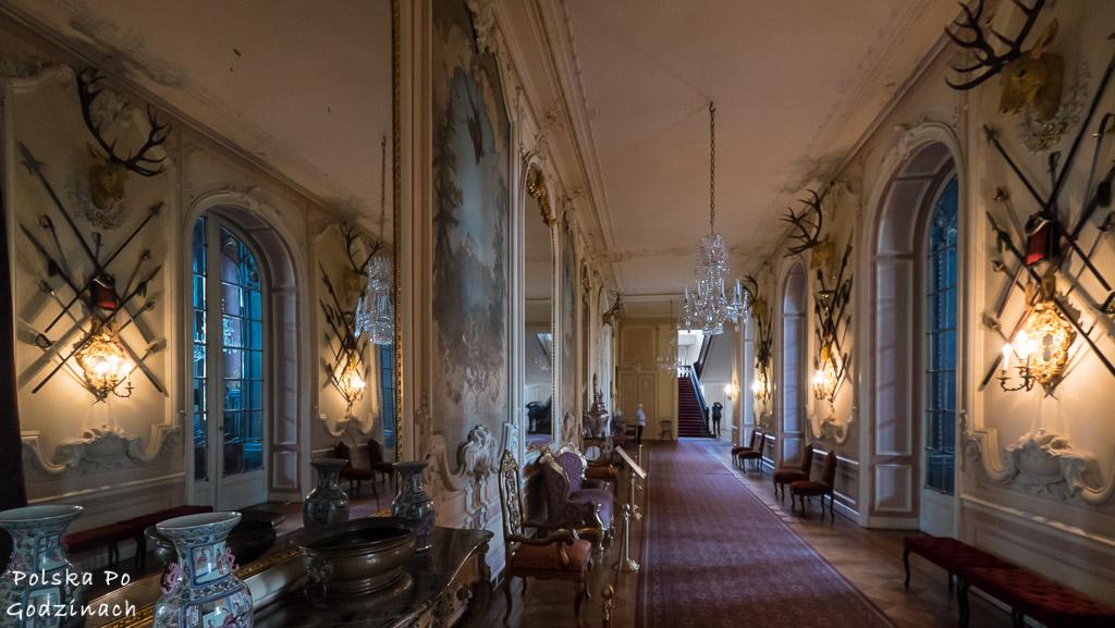 korytarze w muzeum zamkowym