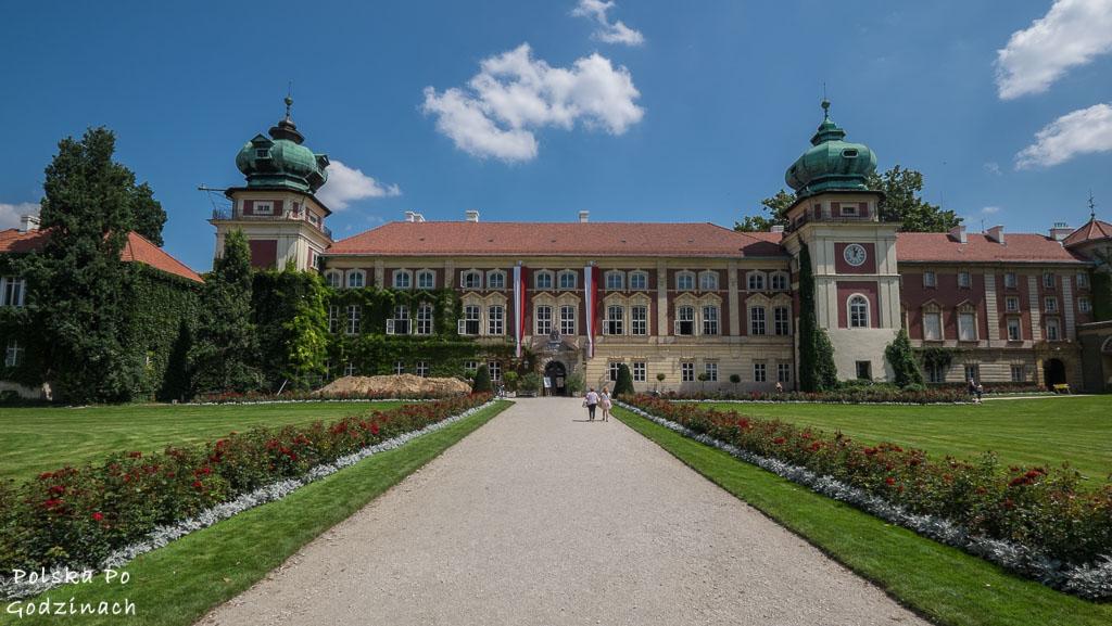 Zamek w Łańcucie przeszedł ostatnio renowację