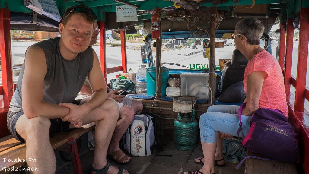 dojazd do Sukhothai